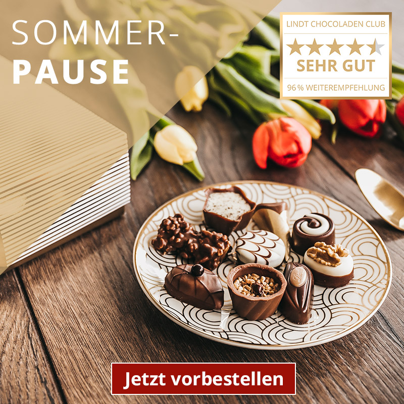 Lindt Chocoladen Club - Sommerpause