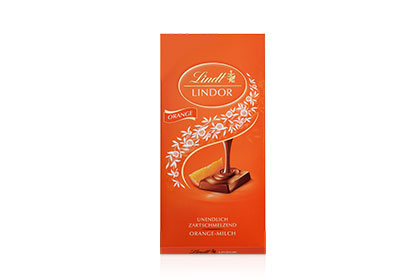 Lindor Tafel Orange